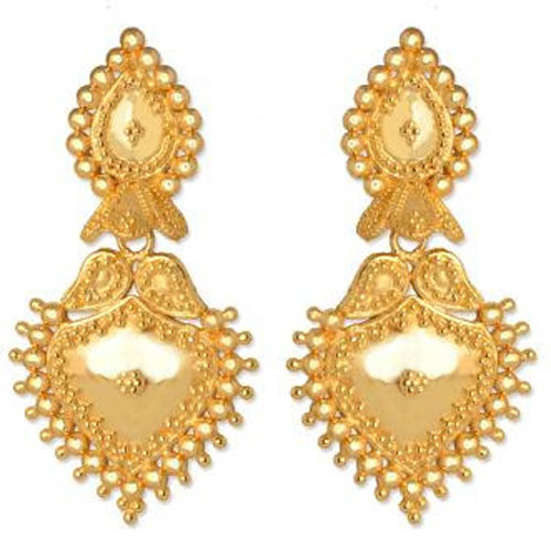 youtube earrings designs beautiful gold most watch