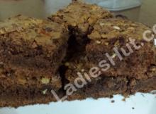 One Bowl Chocolate Brownies Recipe