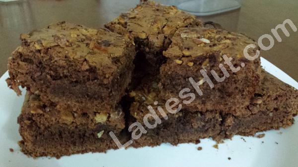 one-bowl-chocolate-brownies