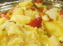 Tasty Pineapple Pudding