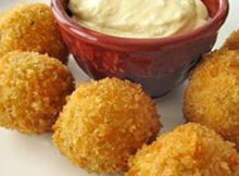 Easy Chicken Cheese Balls