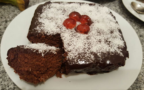 3 Minute Microwave Chocolate Cake