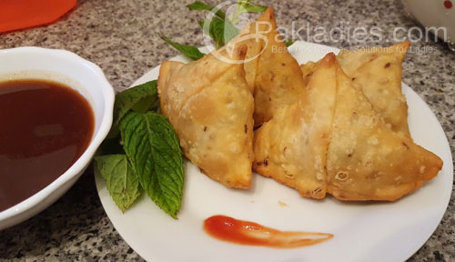 Chicken Tikka Samosa Recipe