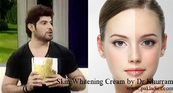 Skin Whitening Cream by Dr Khurram