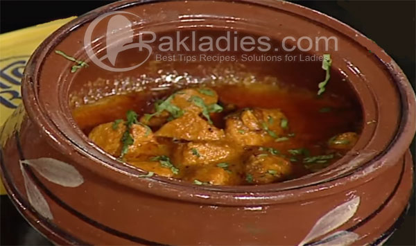 Chicken Tikka Handi Recipe