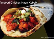 Tandoori Chicken Naan Kebab