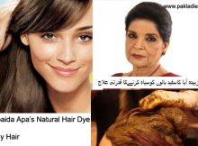 Zubaida Tariq Natural Hair Dye for Grey