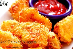 Spicy Baked Chicken Nuggets