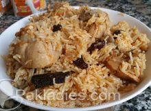 Kashmiri Pulao Authentic Recipe
