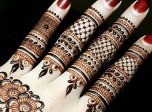 Beautiful Finger Mehndi Designs