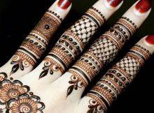 Beautiful Finger Mehndi Designs