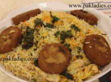 Shami Kabab Pulao