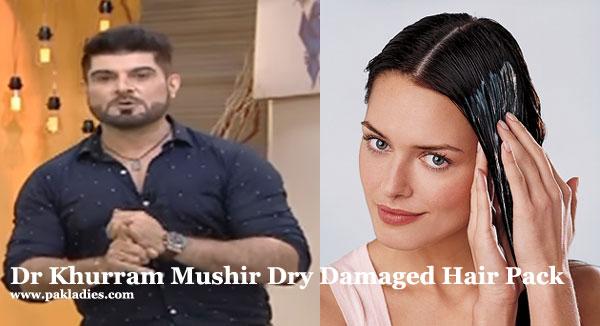 Dr Khurram Mushir Dry Damaged Hair Pack