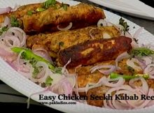 Easy Chicken Seekh Kabab