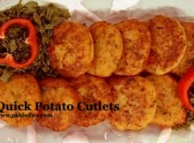 Quick Potato Cutlets