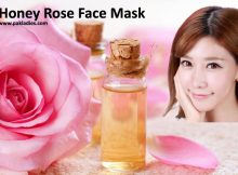 Honey Rose Face Mask