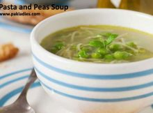 Pasta and Peas Soup