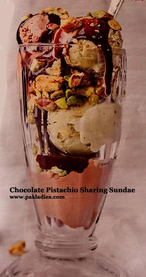 Chocolate Pistachio Sharing Sundae