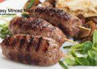 Easy Minced Meat Kebab Recipe