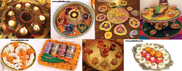 Mehndi Thaal Decoration Ideas
