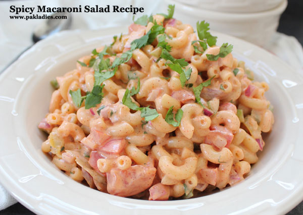 Spicy Macaroni Salad Recipe