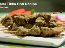Beef Malai Tikka Boti Recipe