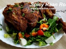 Spicy Raan Roast