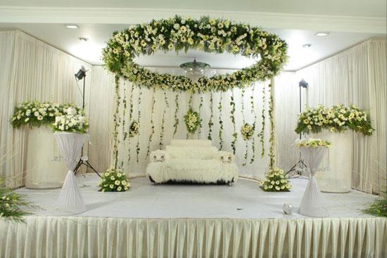 Mehndi Stage Design 2018 : Wedding decoration in trivandrum reception stage