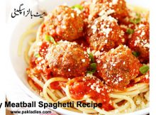 Easy Meatball Spaghetti Recipe