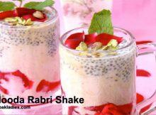Falooda Rabri Shake Recipe