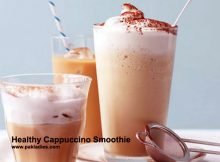 Healthy Cappuccino Smoothie