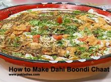 How to Make Dahi Boondi Chaat