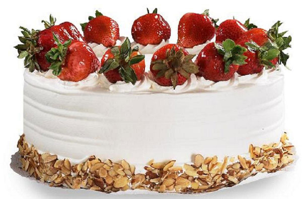Mothers Day Strawberry Cake