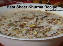 Best Sheer Khurma Recipe