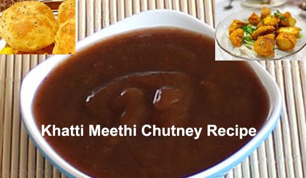 Khatti Meethi Chutney Recipe