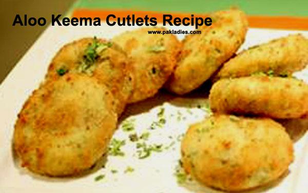 Aloo Keema Cutlets Recipe