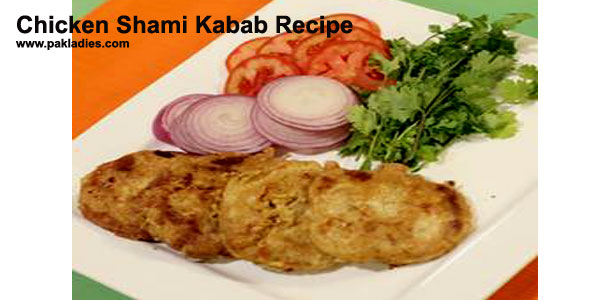 Chicken Shami Kabab Recipe