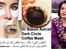 Dr Batool Ashraf Dark Circle Coffee Mask