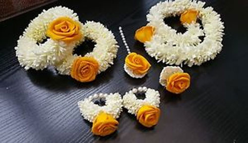 Gajra Flower Jewellery
