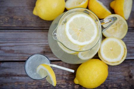 Benefits Drinking Lemon Water