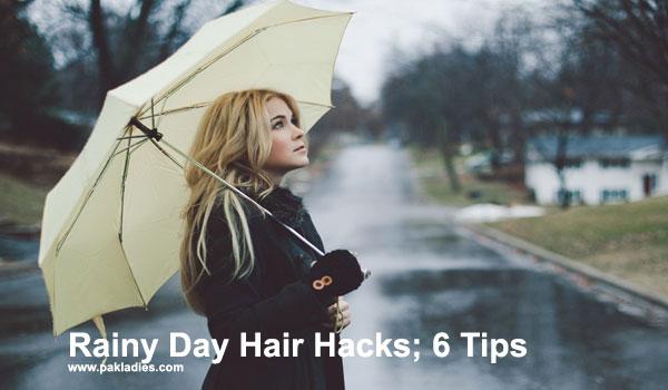 Rainy Day Hair Hacks