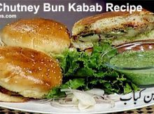 Aloo Chutney Bun Kabab Recipe