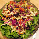 """A great twist on cabbage salad. The peanut butter in the dressing is the secret."" and make Asian Coleslaw."