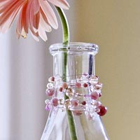 Beaded Vase Decoration
