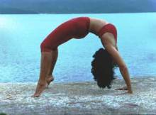 Chakrasana ~ the wheel pose