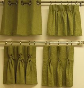 Curtain Heading Styles