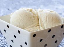 Rich Vanilla Ice Cream