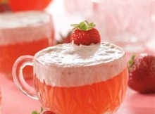 Strawberry Cream Punch