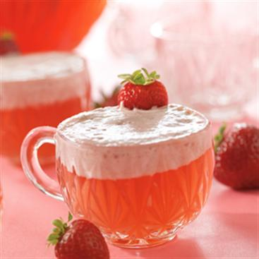 Strawberry Cream Punch