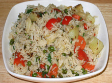 Vegetable Rice Recipe